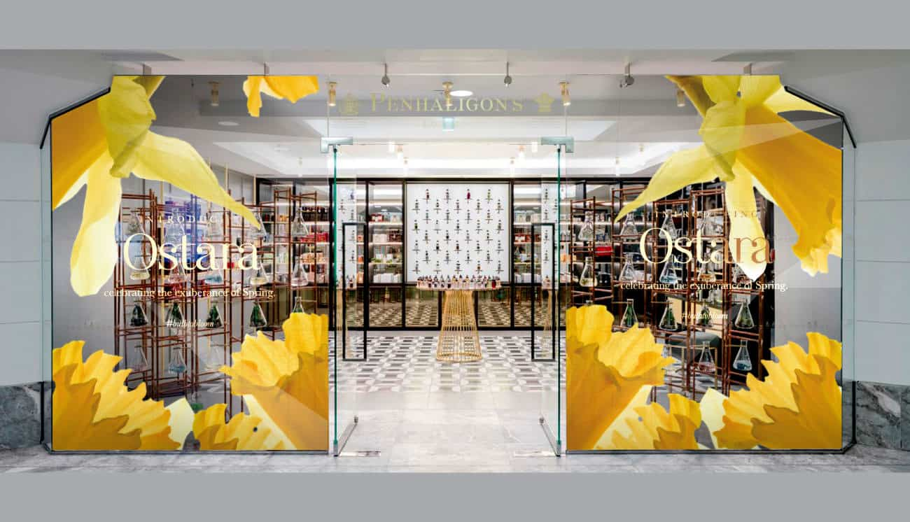 Store window and exhibition designs