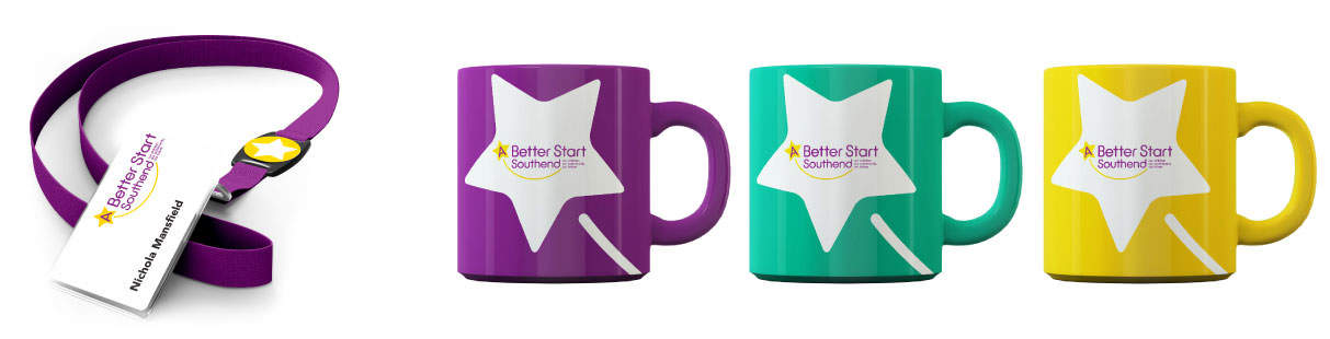 Mugs and promotional goods design southend