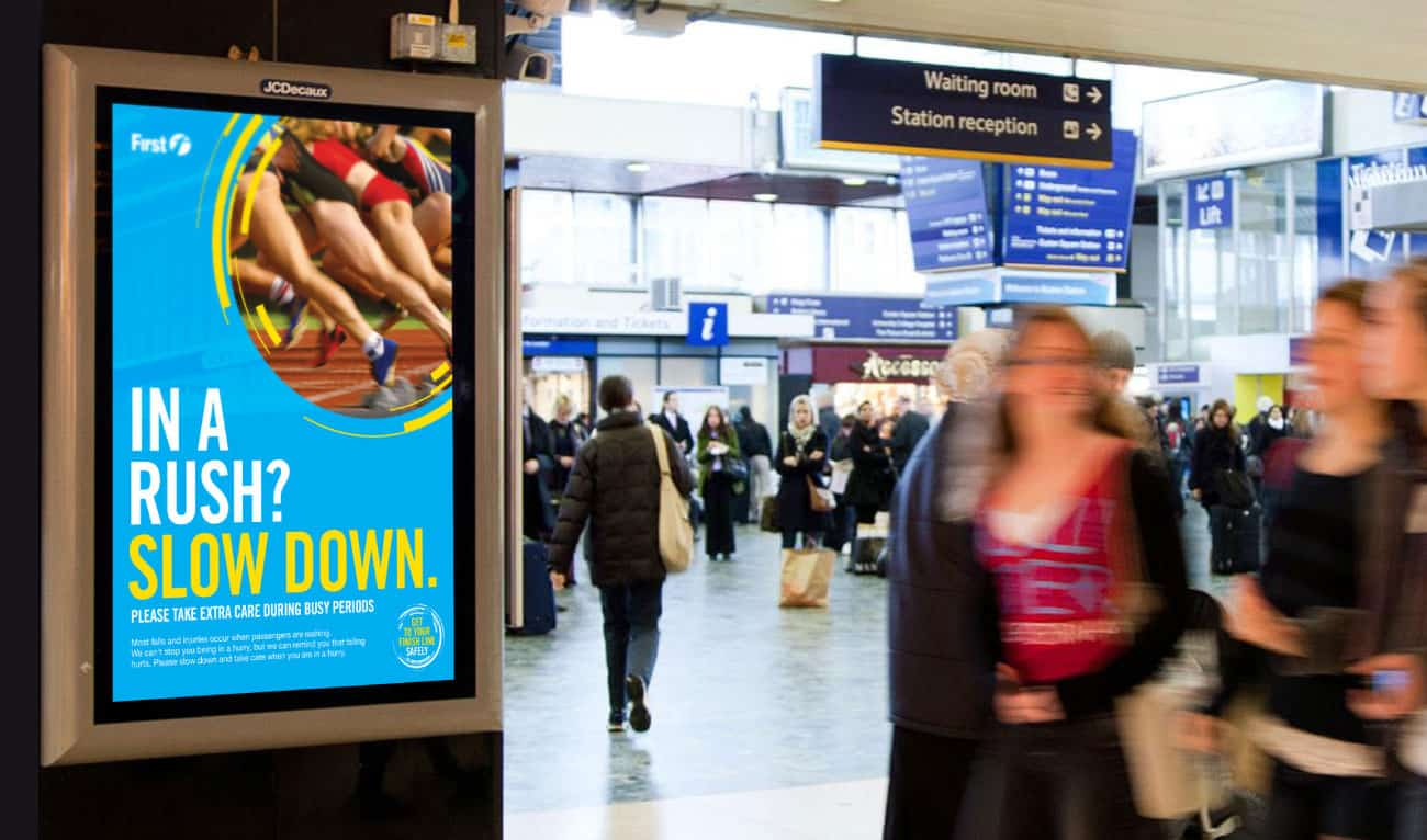 Scotrail olympics campaign