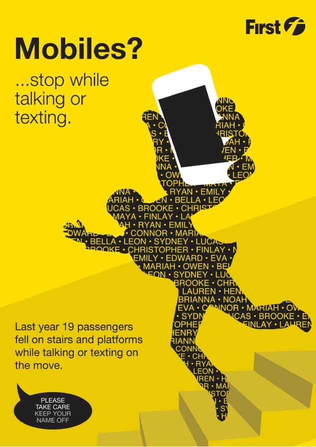 Safety phone campaign designs