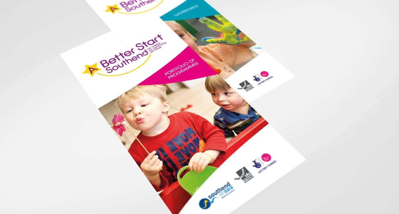 A better start southend council brochure design