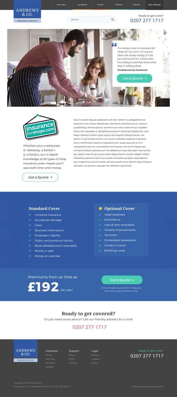 PAGE Creative | design portfolio | Web design in Essex