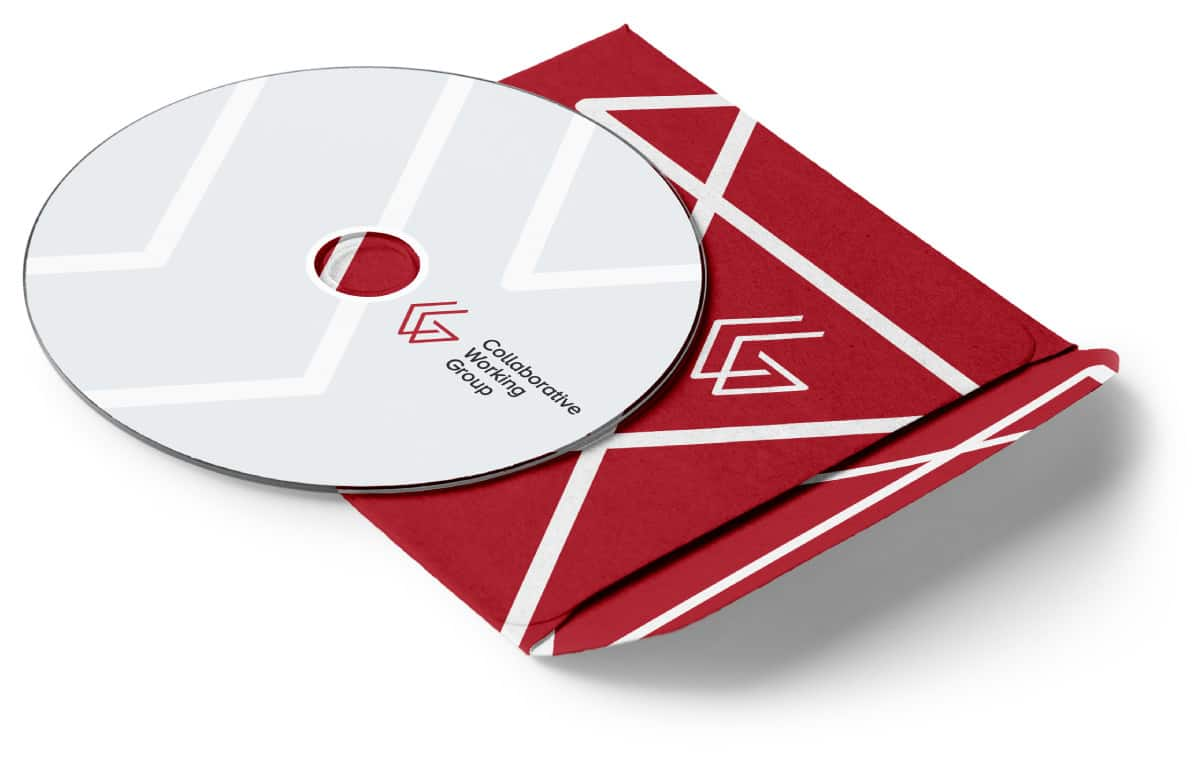 CWG branding on cd cover