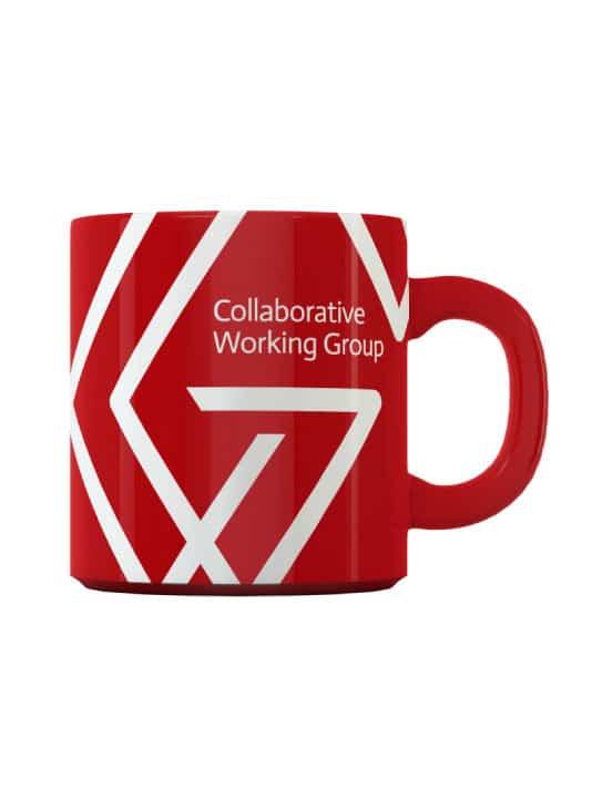 CWG Mug design - branding basildon