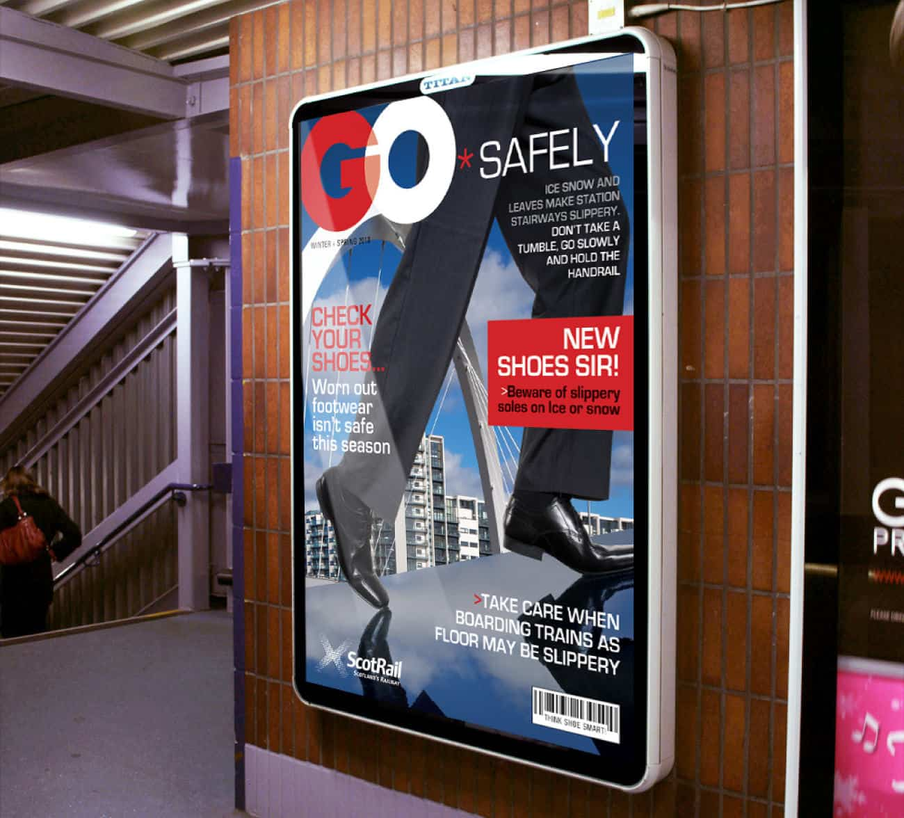 Scotrail go safetly campaign
