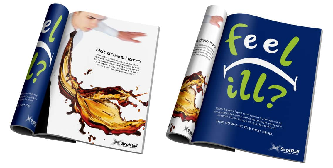 magazine advert designs