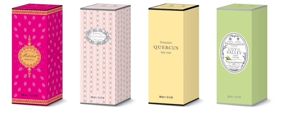 Penhaligons packaging designs