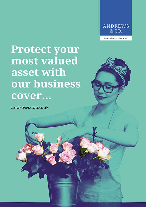 Poster design for london insurance company