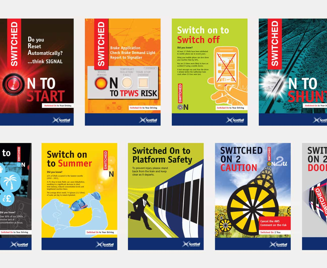 Safety Posters design