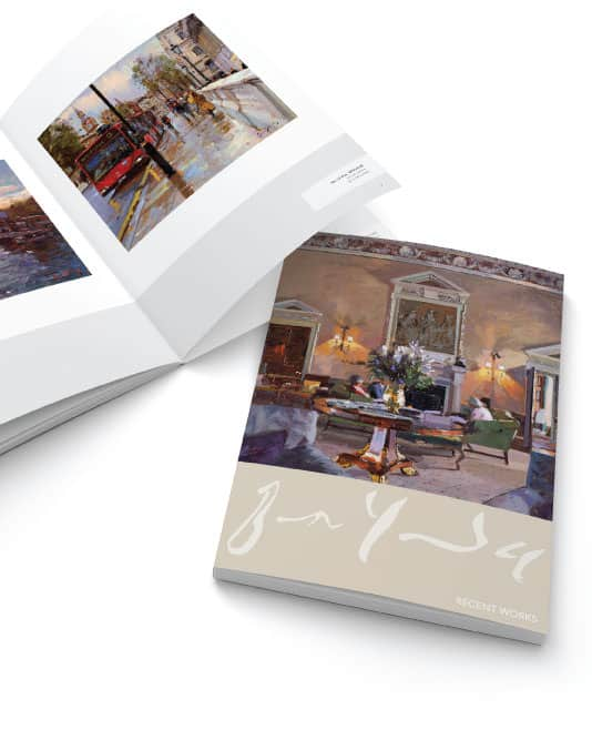 Gallery brochure designs london