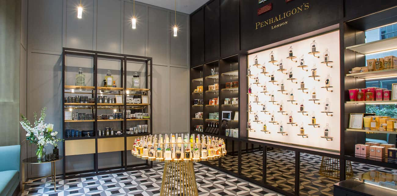 Penhaligons instore graphics