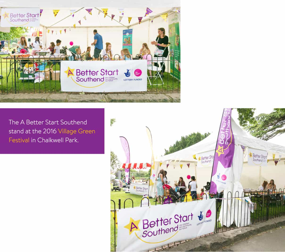 A Better Start Stand at Village green
