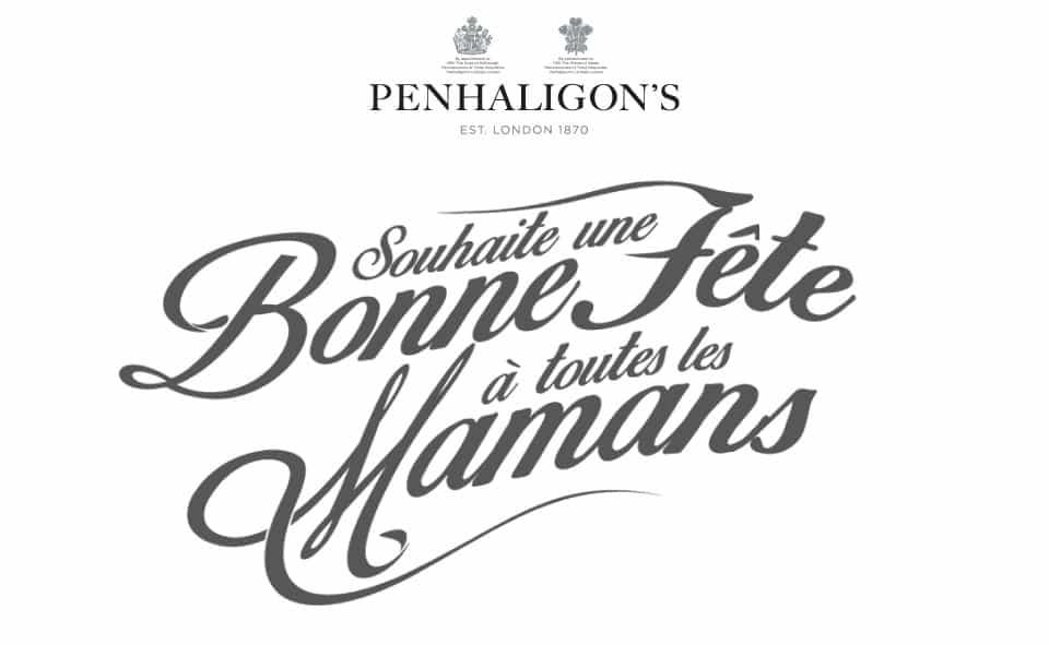 Penhaligons strapline design