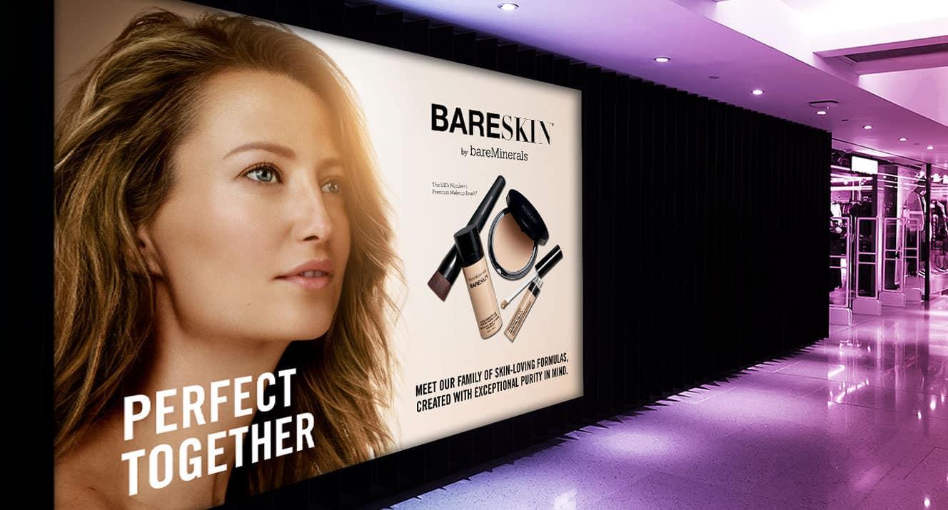 Bareminerals new advert - wall