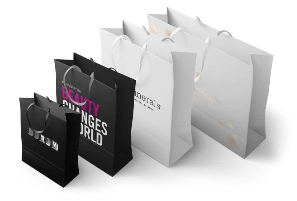 Bareminerals bag designs