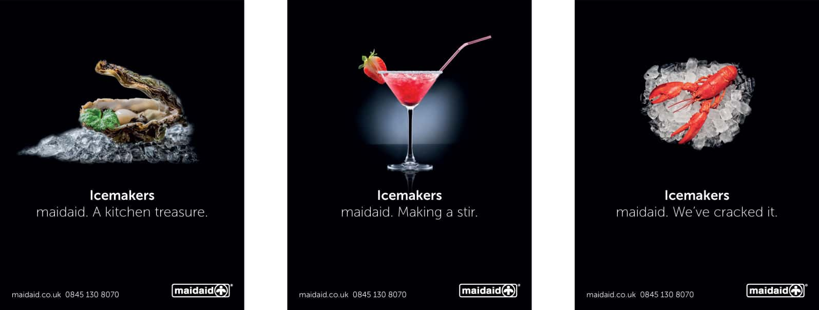 Maidaid Ice adverts