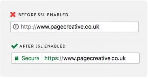 Is your site SSL enabled and ready for googles changes