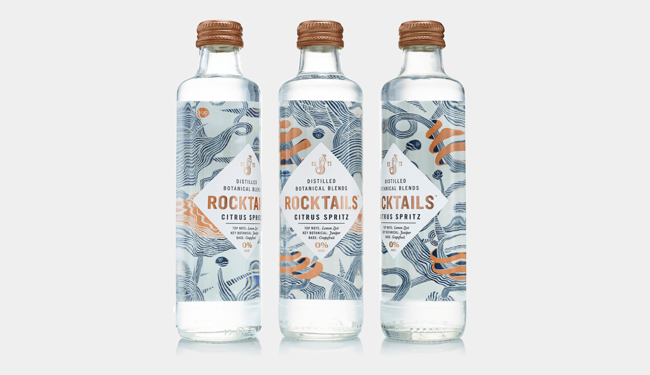 Rocktail bottles